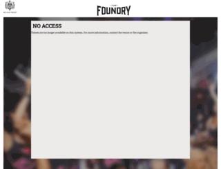 thefoundry.electrostub.com screenshot