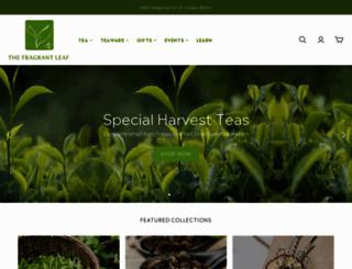 thefragrantleaf.com screenshot
