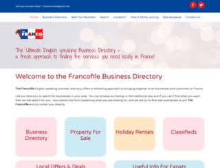 thefrancofile.com screenshot