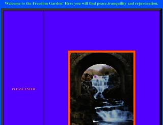thefreedomgarden.org screenshot