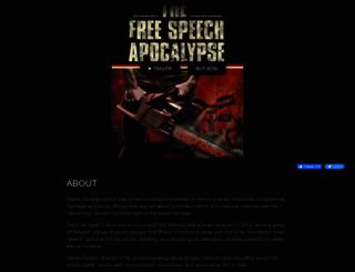 thefreespeechapocalypse.vhx.tv screenshot