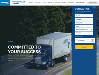 thefreightrateco.com screenshot