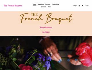 thefrenchbouquettulsa.com screenshot