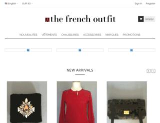 thefrenchoutfit.com screenshot