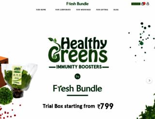 thefreshbundle.com screenshot