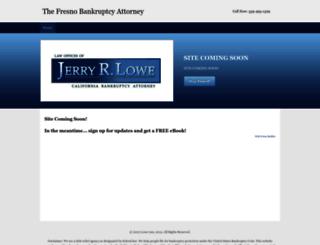 thefresnobankruptcyattorney.com screenshot