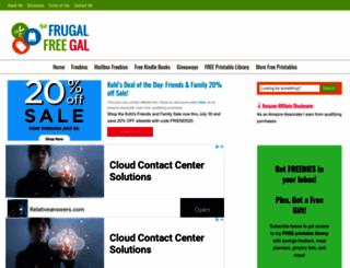 thefrugalfreegal.com screenshot