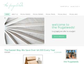 thefrugalweds.com screenshot