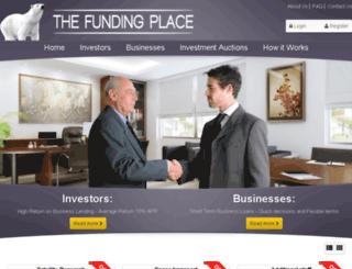 thefundingplace.co.uk screenshot