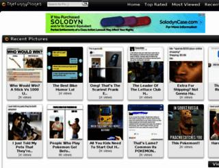 thefunnyplanet.com screenshot