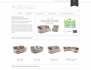 thefurnituredepartment.com screenshot