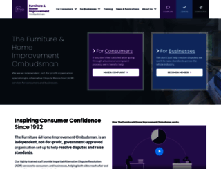 thefurnitureombudsman.org screenshot