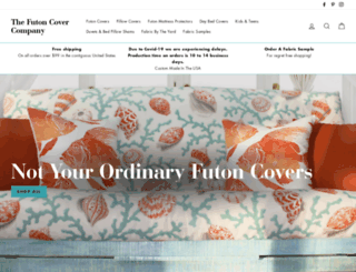 thefutoncovercompany.com screenshot