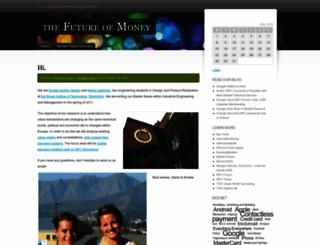 thefutureofmoney.wordpress.com screenshot