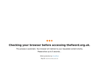 thefword.org.uk screenshot