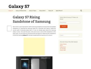 thegalaxys7.com screenshot