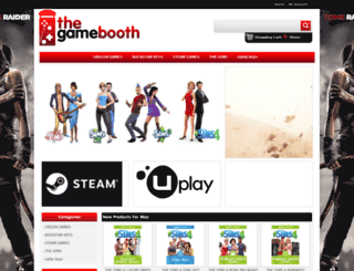 thegamebooth.co.uk screenshot
