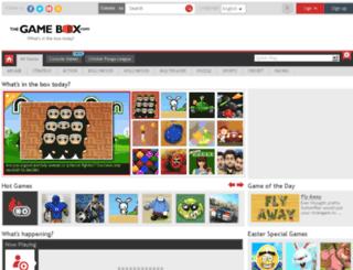 thegamebox.com screenshot