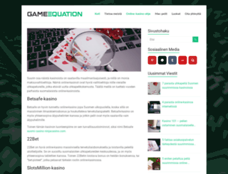 thegameequation.com screenshot