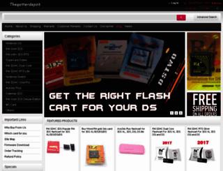 thegamerdepot.com screenshot