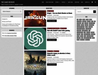 thegamereviews.com screenshot