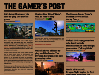 thegamerspost.com screenshot