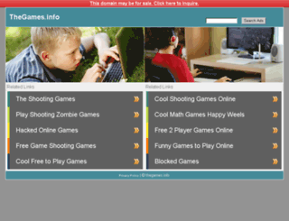 thegames.info screenshot