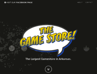 thegamestore.com screenshot