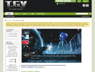 thegamesvillage.com screenshot