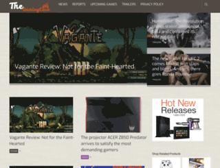 thegamingcave.com screenshot