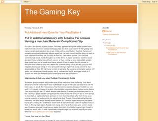 thegamingkey.blogspot.com screenshot