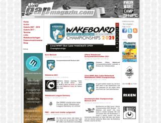 thegapmagazin.com screenshot