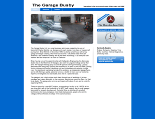 thegaragebusby.co.uk screenshot