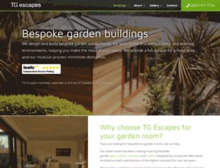 thegardenescape.co.uk screenshot
