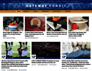 thegatewaypundit.com screenshot