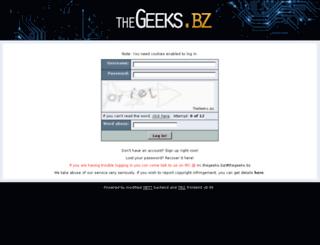 thegeeks.bz screenshot