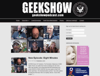 thegeekshowpodcast.com screenshot