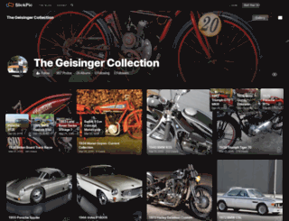thegeisingercollection.slickpic.com screenshot