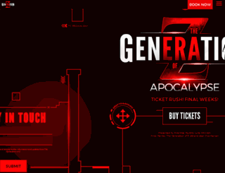 thegenerationofz.com screenshot