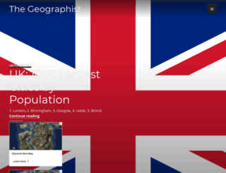 thegeographist.wordpress.com screenshot