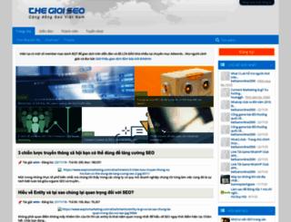 thegioiseo.com screenshot