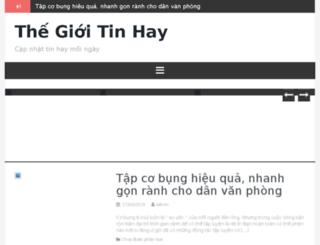 thegioitinhay.com screenshot
