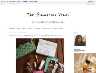 theglamorouspearl.blogspot.it screenshot