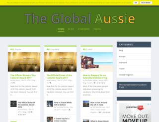 theglobalaussie.com screenshot