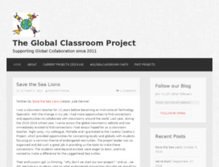 theglobalclassroomproject.wordpress.com screenshot