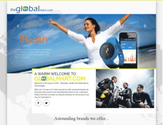 theglobalmart.com screenshot