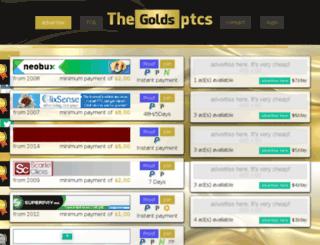 thegoldsptcs.com screenshot