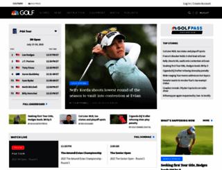 thegolfchannel.com screenshot