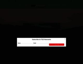 thegolfdirector.com screenshot