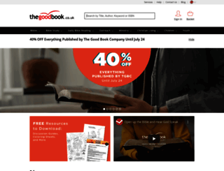 thegoodbook.co.uk screenshot